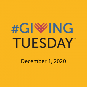 Giving Tuesday Dec 1, 2020